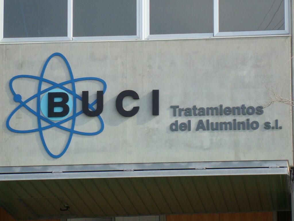 Logo Buci S.L. Tratamiento y anodizado de aluminio